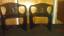 Antique Mid century modern chairs Lucite  Nanna ditzel design