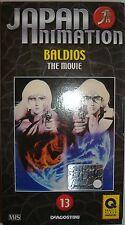 VHS - DE AGOSTINI/ JAPAN ANIMATION - VOLUME 13 - BALDIOS