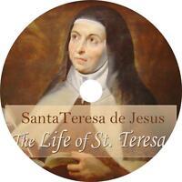 The Life of St. Teresa, Teresa of Avila Christian Faith Audiobook on 12 Audio CD