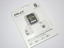 PNY 8G SDHC SD card for Sony RX100 HX20V NEX 5N F3 H90 WX50 HX200V W560 camera