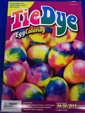 Tie Dye Egg Coloring Kit Easter Holiday Party Decorating Game Favor Activity