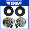 LAND ROVER 110 DEFENDER CLEAR LED FOG & REVERSE LIGHT + PLUGS UPGRADE KIT SET