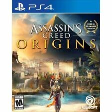 Assassin's Creed: Origins Used Sealed (Sony PlayStation 4, 2017) Ps4