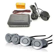 [Silver] Car Reversing Parking 4 Rear Sensor Kit & Buzzer Fits Ford Mondeo