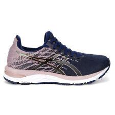 ASICS Women's Gel-Cumulus 21 Knit Peacoat/Rose Gold Running Shoes 1012A692.40...