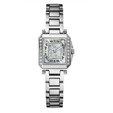 BRAND NEW GUESS COLLECTION A51103l1 DIAMOND GLITZ SILVER MOP DIAL WOMEN'S WATCH