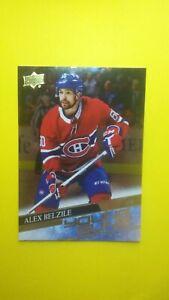 2020-21 Upper Deck Young Guns SILVER FOIL Alex Belzile #230 RC Rookie Card HABS