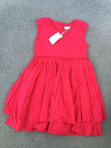 Girls Pumpkin Patch Dress NEW size 6 NEW  Fuchsia Rose