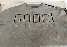 COOGI T-Shirt Size Large Gray with Embroidered Front