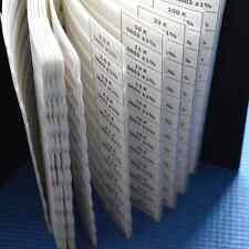 Smd 0603 1 Rohs Sample Assorted Resistor Kitsample Book 175valuex50pcs8750pcs