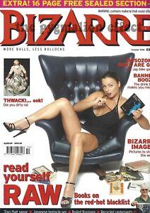 Bizarre Magazine 1998 No.13 - Bosozoku Schoolgirls Castration Lee Francis Voodoo