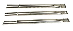 3 x Edelstahl Brenner 41,7 x 4 cm Gasgrill Ersatzbrenner Gasbrenner Ersatzteil