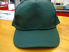 Blank Dr Green TRUCKER CAP SNAP BACK ADJUSTABLE  Mesh Back cap NEW brand OTTO
