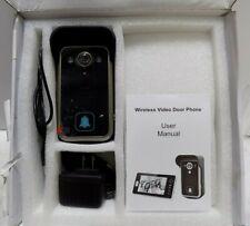 2.4GHz Digital Wireless Video Door Phone 7 Inch Screen *HN @H51