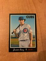 2019 Topps Heritage - Javier Baez - #440 Black Border Parallel /50 made