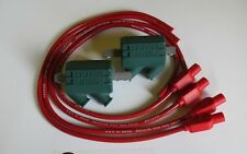 Kawasaki z1100r 3 ohm Dyna Performance Ignition Coils and Taylor Leads. Red
