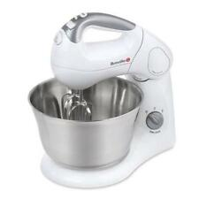Breville Twin Hand & Stand Food Mixer With Dough Hook & Whisks Kitchen Baking