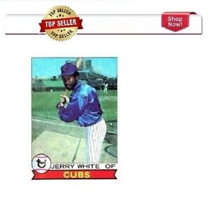 Tops # 494 Jerry White Cubs Baseball Card