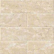 "BEIGE BRECCIA Classic Subway Backsplash Tile Ceramic 4"" X 16"" KITCHEN BATHROOM"