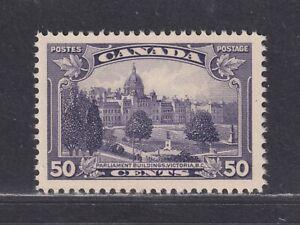 Canada Scott 226 XF MNH 1935 50¢ Parliament Buildings, Victoria BC