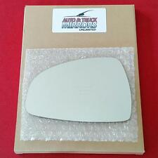 NEW Mirror Glass ADHESIVE 00-05 AUDI TT COUPE//ROADSTER Passenger Right Side RH