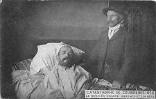 BC60762 Catastrophe de Courrières 1906 Le dernier escape Berthou et son pere