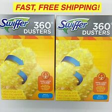 SWIFFER 360 DUSTERS Refills 6 Count UNSCENTED 80210903 Feather Duster