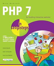 PHP 7 in easy steps by Mike McGrath (2016) - NEW - Free P&P