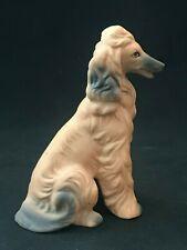 Collectible Dog Figurine Afghan Hound Vintage Animal