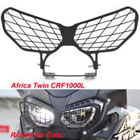 Stainless Steel Headlight Guard Kit For Honda Africa Twin /ABS CRF1000L 16 17 18