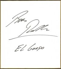Bas Rutten Signed Shikishi Art Board BAS Beckett COA UFC Champ 18 20 Autograph 1