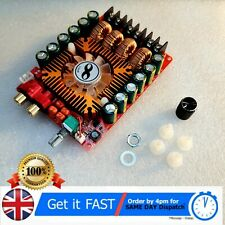 More details for tda7498e 2x160w dual channel audio amplifier board, support btl mode dc