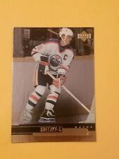 WAYNE GRETZKY  1999-00 Upper Deck Gold Reserve #5 Edmonton Oilers  HOF