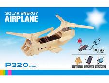CH47 Elicottero Militare modello 3D pannelli solari fai da te KIT compensato sole dell' istruzione