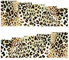 Nail Art Stickers Transfers Decals Leopard Print (A-111)