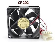 4-Pin Molex 80mm CPU Case / Power Supply Ball Bearing Cooling Fan - CF-202