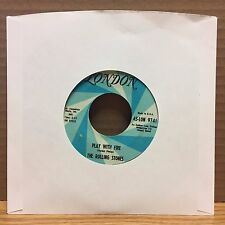 The Rolling Stones The Last Time/Play With Fire EX London 45