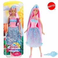 Barbie dreamtopia principessa dell'arcobaleno chioma da favola mattel nuova