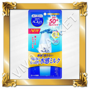 ROHTO Skin Aqua Super Moisture Milk Sunscreen SPF50+ PA++++ 40 ml waterproof FS