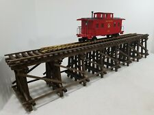 "Custom Built G-Gauge Wooden Trestle 47""×8""×9.25"" - JFS"