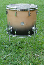 """PDP by DW 16"""" CONCEPT MAPLE CHARCOAL FADE FLOOR TOM for YOUR DRUM SET! LOT #A768"""