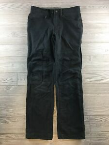 Prana  Mens hiking pants men's  SIze 30 Black Organic Cotton Blend
