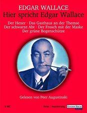 Hier spricht Edgar Wallace | Kassette | Neu New