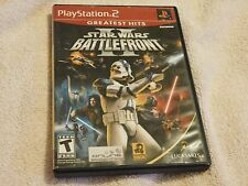 Star Wars Battlefront II - Greatest Hits (Sony PlayStation 2 2005  PS2) Complete