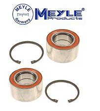 Pair Set of Two Rear Wheel Bearing Kits for Mercedes W163 ML320 ML350 ML430