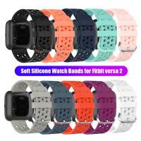 Zubehör Armband Für Fitbit Versa 2 Handgelenk (Strap) Silicon Watch Bands Sport