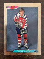 1992-93 Bowman #207 Wayne Gretzky FOIL - Los Angeles Kings - Rare SP