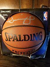 Detroit Pistons Darko Milicic Autographed Basketball