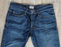Sale% Hugo Boss Orange 25 Jeans Herren W31 L30 Denim Blau Regular Fit Hose