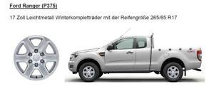 Ford Ranger 2016-19 Satz Winterräder Komplett NEU Vredestein 265 65 17 FORD Alu